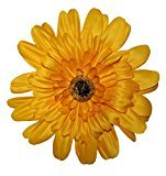 Webb Direct 2U Versatile 3 in 1 Fx Layered Daisy Flower Hair Bow Yellow 105