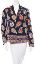 Tory Burch Reversible Silk Jacket