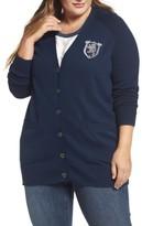 Melissa McCarthy Plus Size Women's Boyfriend Cardigan