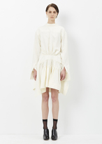 J.W.Anderson off white back to front shirt dress