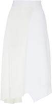 Jil Sander Colorblock Knit Midi Skirt
