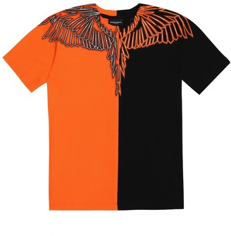 Marcelo Burlon County of Milan Kids Of Milan Wings cotton-jersey T-shirt