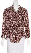 Isabel Marant Printed long Sleeve Blouse