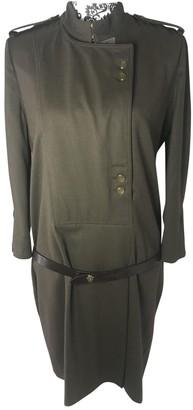 Gucci Khaki Wool Dress for Women Vintage