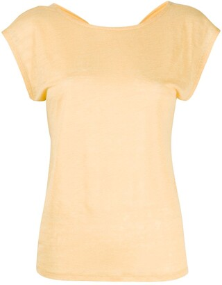 Forte Forte twist back sleeveless T-shirt