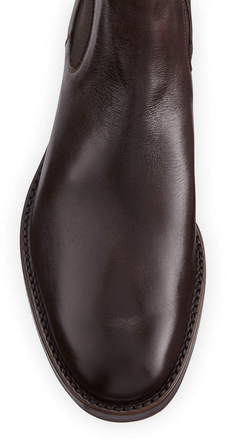610bf4518a2 Tumbled Leather Chelsea Boot