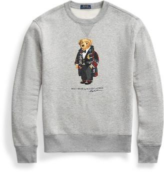 Ralph Lauren Duffel Bear Fleece Sweatshirt
