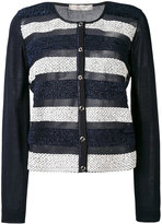 D-Exterior D.Exterior - striped cardigan - women - Cotton/Polyester/Viscose - M