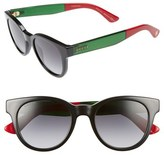 Gucci Colorblock Sunglasses