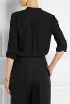 Diane von Furstenberg Gilmore silk-crepe shirt