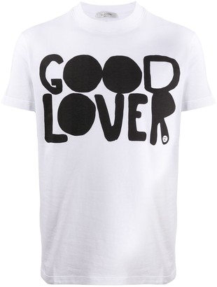 Valentino Good Lover print T-shirt