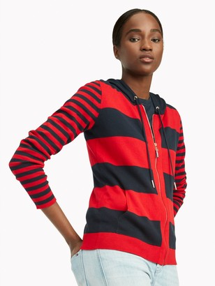 Tommy Hilfiger Essential Mixed Stripe Hoodie Sweater