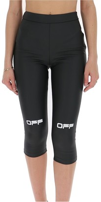 Off-White Logo Capri Leggings