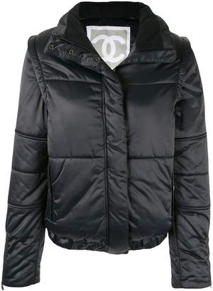 Chanel Pre-Owned Sports Line padded jacket