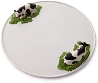 Bordallo Pinheiro Meadow Round Cheese Tray