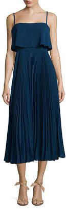 Jill Stuart Pleated A-Line Dress