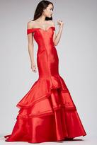 Jovani Off The Shoulder Mermaid Prom Dress 31100