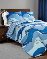 Lush Decor Shark Allover Quilt 3Pc Set