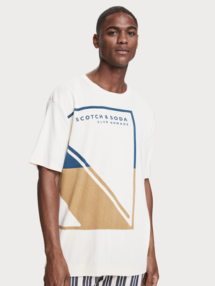 Scotch & Soda 100% cotton short sleeve t-shirt | Men