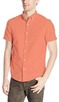 Original Penguin Men's Short-Sleeve Core Oxford Button-Down Shirt