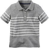 Carter's Striped Polo - Preschool Boys 4-7