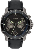 Nixon Men&s Ranger Chrono Leather Watch