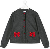 Dolce & Gabbana ribbon embroidered cardigan