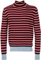 Marni striped turtleneck top - men - Wool - 50