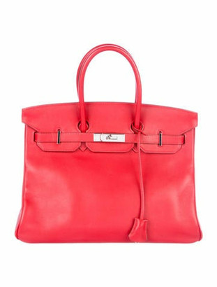 Hermes Swift Birkin 35 Rouge