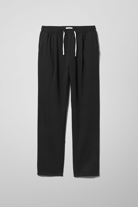 Weekday Thriller Structure Joggers - Black