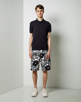 Marni Printed Cotton Shorts