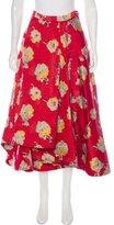 Brock Collection Jacquard Midi skirt