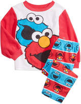 Sesame Street 2-Pc. Elmo and Cookie Monster Pajama Set, Toddler Boys (2T-5T)