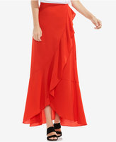 Vince Camuto Faux-Wrap Maxi Skirt