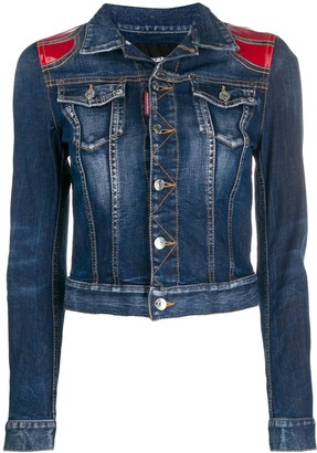 DSQUARED2 Contrast Denim Jacket