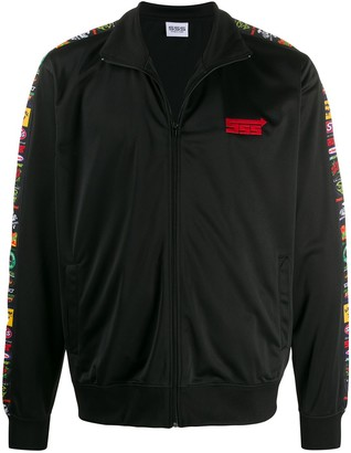 SSS World Corp Contrast Side Panel Jacket