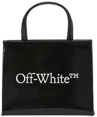 Off-White Logo mini box bag