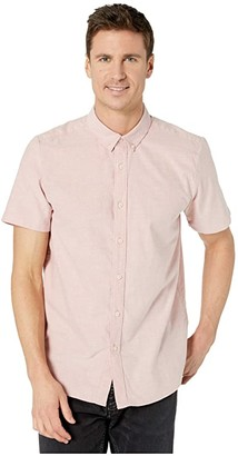 Volcom Everett Oxford Short Sleeve (Gold) Men's Clothing