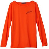 Petit Bateau Womens cotton jersey tee with embroidery