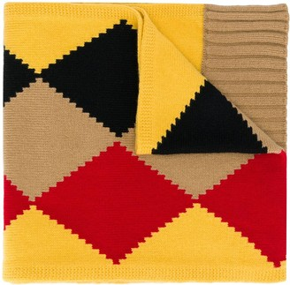 Pringle Diamond-Knit Scarf
