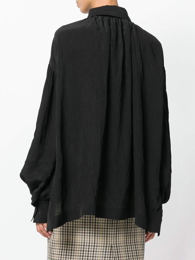Loewe wide sleeve flared blouse