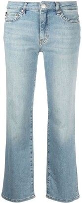 Love Moschino Cropped Denim Jeans