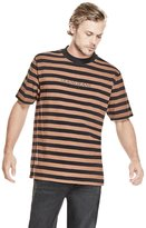 GUESS Men's Men's Originals 1981 Striped Crewneck Tee