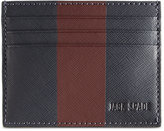 Jack Spade Men's Striped Barrow Leather Card Case