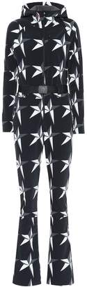 Perfect Moment Star one-piece ski suit