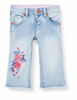 Brums Baby Girls' Pants Denim Stretch Con Stampa Jeans