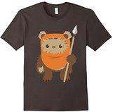 Star Wars Wicket Ewok Chibi Kawaii Cute Graphic T-Shirt