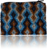 DaVinci Glass Beaded Pouch