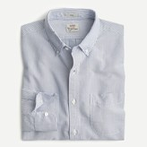J.Crew Stretch American Pima cotton oxford shirt in stripe