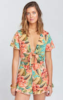MUMU Riviera Romper ~ Johnny and the Band Pebble